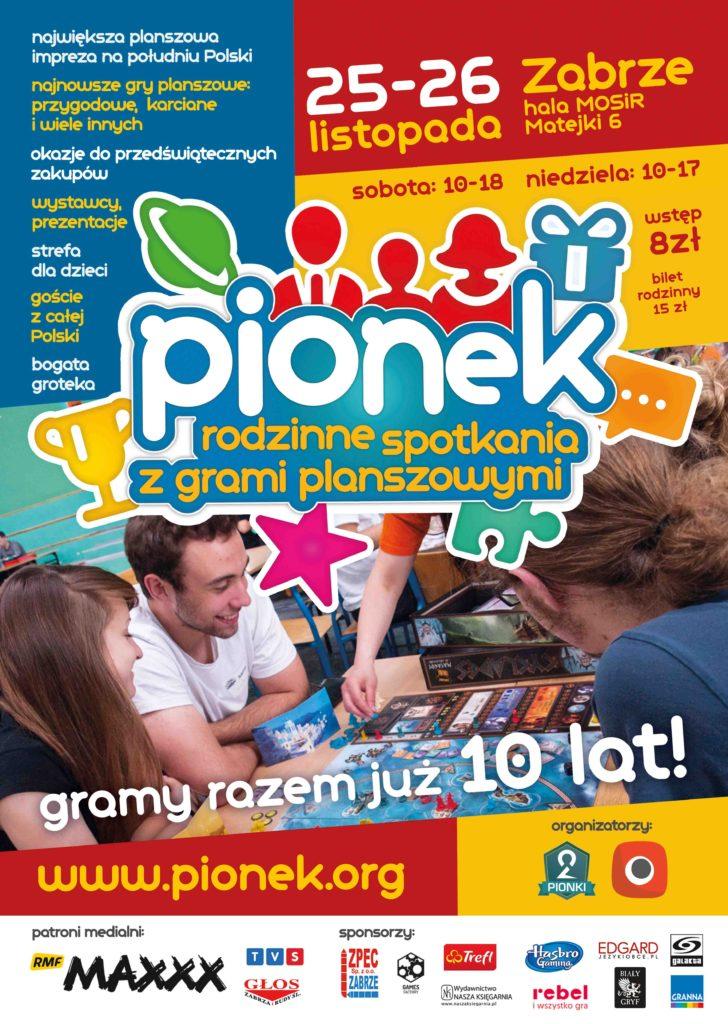 Plakat 28 edycji Pionka